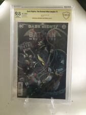 DARK KNIGHTS METAL THE BATMAN WHO LAUGHS 1 (Origin) 9.8 SS FABOK & SNYDER CBCCGC