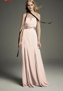 NWT White by Vera Wang Formal or Bridesmaid Dress Size 14 (Champagne)