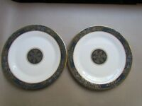 "ROYAL DOULTON CARLYLE H5018 TWO 10½"" DINNER PLATES - 1ST QUALITY (Ref3742)"