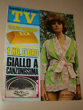 TV SORRISI CANZONI=1970/48=SYLVA KOSCINA=CATERINA CASELLI=ROSSELLA FALK=PAVONE R