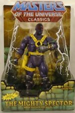 Masters Of The Universe Classics The Mighty Spector Mattel MOC With Mailer Box