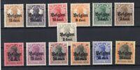 Belgium 10/22 Kurzsatz Mint Ca (74216
