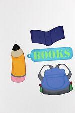 SCHOOL School Supplies Lot Scrapbooking Scrapbook Creative Paper Piecing Kids