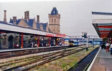 PHOTO  LINCOLN CENTRAL RAILWAY STATION EASTWARD 1992 VIEW EAST FROM THE MAIN PLA