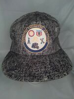 International Union Operating Engineers Job Corps 1980s Hat Snapback Cap