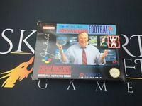 Boxed John madden Football '93 - Super Nintendo (SNES) TESTED UKV PAL