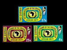 GAMBIA 1973 African Unity Set #295-97 M/H
