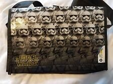 NEW Subway Star Wars The Force Awakens Storm Trooper Bag + Glow Stick Lightsaber