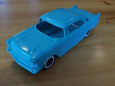 PRESSED STEEL TOYS REPLACEMENT TONKA TOY AUTO TRANSPORT TURQUOISE '57 CHEVY CAR