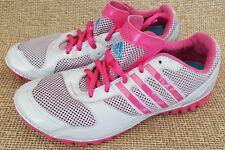 Original Adidas FLUID TRAINER LIGHT Malla Rosa Gris para Mujeres y Chicas Talla 5