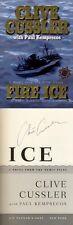 Clive Cussler SIGNED AUTOGRAPHED Fire Ice HC 1st Ed/1st Kurt Austin NUMA Files