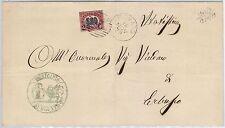 ITALIA REGNO: storia postale - BUSTA da ROVATO - timbro NUMERALE 1941 su Sass 35