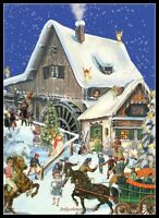 Charts Needlework DIY - Counted Cross Stitch Patterns - Christmas At the Mill