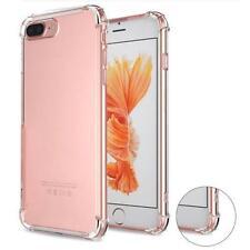 Clear Ultra Thin Soft Anti Shock Bumper Gel Cover iPhone 7 6,6s Plus 5 5c 5S SE