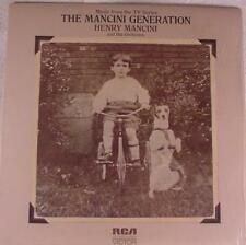 RCA Dynaflex Henry Mancini & His Orch. The TV Series The Mancini Generation LP