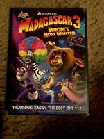 Madagascar 3: Europe's Most Wanted (DVD, Widescreen, 2012) Brand New!