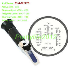 Adblue 30-35% antifreeze coolant battery, car ethylene propylene refractometer