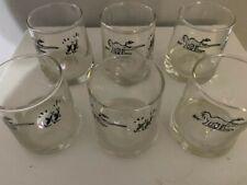 Set of 6 1979 Vintage BC Comics Anteater Glasses