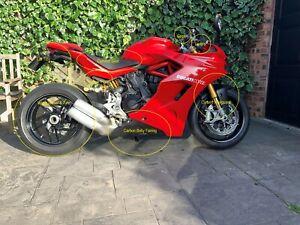Ducati Supersport 2017 2018 2019 Ilmberger Carbon Fibre Belly Fairing Matt