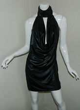 New Women Marciano Sexy Sleeveless Cocktail Party Shiny Dress Size L NWT $149
