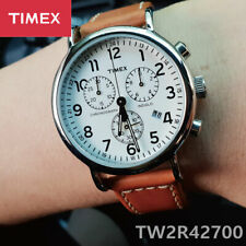 TIMEX TW2R42700 Expedition Chronograph 40mm Quartz Leather Men's Watch
