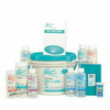 Rendezvous CHLORINE Deluxe Spa Hot Tub Start Up Chemical Care Kit & Guide