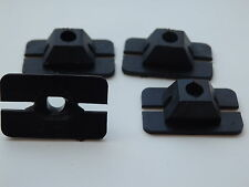 4 X  GENUINE FORD SIERRA MK1 COSWORTH RS500  FRONT GRILLE RETAINING CLIPS NEW