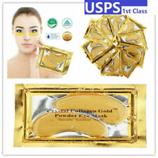 60pcs Crystal Gold Collagen Under Eye Patches Mask Anti Wrinkles Skin Care US