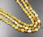 "4-9mm Natural Gemstone Freeform Potato loose beads 16"" Charoite kyanite Peridot"