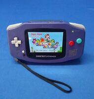 Backlit Nintendo GBA Game boy Advance Custom Backlight GBA ags 101 mod GameCube
