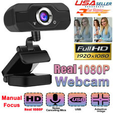 HD 1080P Web Cam Microphone Camera Webcam for Computer PC Laptop Notebook Webcam