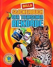 Billa Tierische Rekorde, leeres Album + alle 210 Sticker
