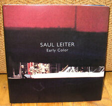SIGNED Saul Leiter Early Color Edition 2011 HC DJ Photographs