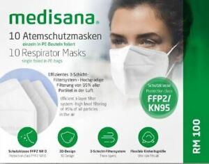 (2,99€/Stück) 10 x Maske RM 100 Medisana