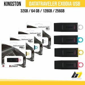 Kingston 8/16/32/64/128GB USB 3.0 Flash Stick Pen Data Traveler G4 Memory Drive