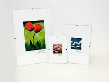 Photo Picture Poster Clip Frames - Small / Big / Large, Frameless Frames