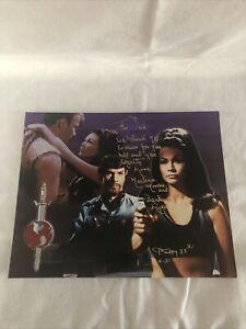 Star Trek Marlena Signed 8x10 Picture Barbara Luna Mirror Mirror
