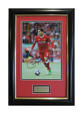 Roberto Firmino Photo Signed Liverpool FC Framed