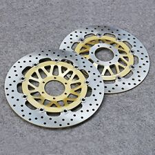 Front Brake Disc Rotor Fit For Honda GL1500 Valkyrie 97-03 GL1800 Goldwing 01-10