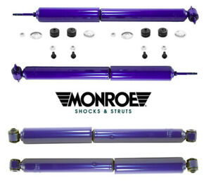 4 Shock Absorber Kits MONROE MATIC PLUS Front Rear for JEEP Grand Cherokee 99-04
