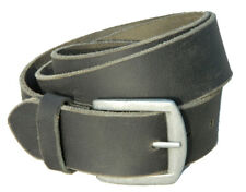 Men Real Leather Belt Crunch wide strap jeans Trouser full grain made in india