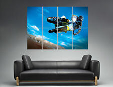 Moto Cross Sport Extrem Mural  Wall Art Poster Grand format A0 Large Print