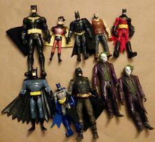 Lot of dc batman bane Robin joker Christian bale animated series
