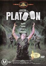 PLATOON (Charlie SHEEN Tom BERENGER Willem DAFOE) Oliver STONE War Film DVD Reg4