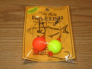 12 BLUEFISH TIDE RITE RFB-L BEAK HOOK FIREBALL RIGS SALTWATER FISH RIG MUSTAD