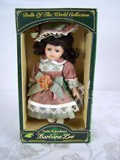 Dolls of the World Collection Petite Porcelains Barbara Lee Brunette Doll