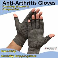 Medipaq Anti-arthritis Gloves Pair - Providing Warmth and Compression to Help