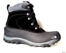 new mens NORTH FACE black waterproof lined winter BOOTS 47 US 13 - really warm