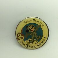 Walt Disney World Trading Pin WDW 20th Anniversary Space Mountain Mickey Mouse