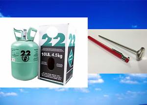 New R-22, R22, Refrigerant 22, Fresh Factory Sealed, 10 Lb., FREE SAME DAY SHIP